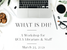 Workshop: What is DH?